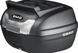 Кофр центральный SHAD SH40 Cargo + плита black