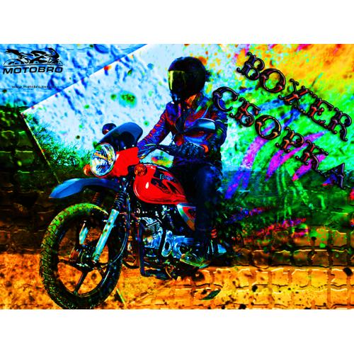 Сборка Bajaj Boxer 125 Х